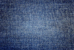 Texture of jeans textile Stock Photography