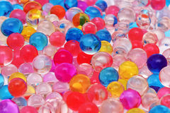 Texture jelly balls Royalty Free Stock Image