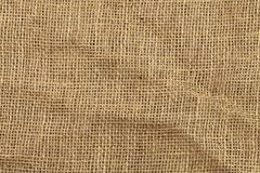 Texture of jute Stock Photos