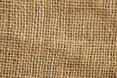 Texture of jute Stock Photography