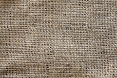 Texture of jute bag Royalty Free Stock Photos