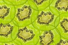 Texture juteuse fraîche de kiwis Photo libre de droits