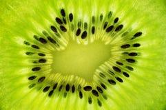 Texture juteuse fraîche de kiwis Photo stock