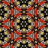 Texture kaléïdoscopique de modèle sans couture Images libres de droits