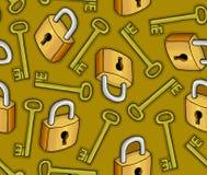 Texture of keys Stock Image