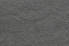 Texture knitted fabric of black color Royalty Free Stock Photos