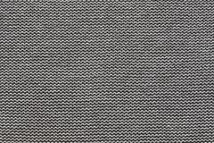 Texture knitted fabric of black gray color Stock Photo