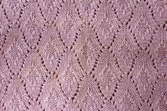Texture knitted fabric Stock Image