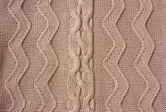 Texture knitted fabric Stock Photography