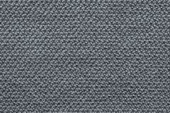 Texture knitted fabric of gray color Royalty Free Stock Photos