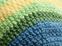 Texture of a knitted fabric piece. Royalty Free Stock Photo