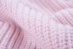 Texture of knitted fabric stock photography
