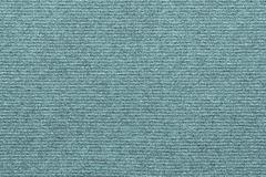 Texture of knitted striped fabric pale blue green color Stock Photography
