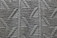 Texture of knitted sweaters Stock Images