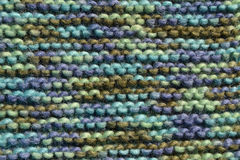Texture of knitting wool Royalty Free Stock Photo