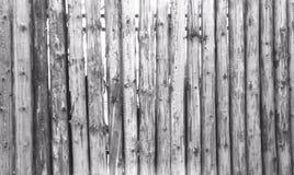 Texture légère de Grey Old Log Cabin Wall mur rustique léger de rondin de Chambre Fond boisé horizontal images stock