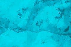 Texture légère de scintillement de modèle de glace de vacances de fond bleu de Noël Photographie stock libre de droits
