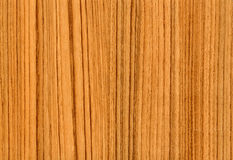 Texture légère en bois de QG Zebrano au fond Photographie stock