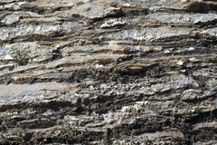 Texture of lamellar stone Royalty Free Stock Photography