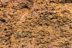 Texture of Laterite Stock Photography