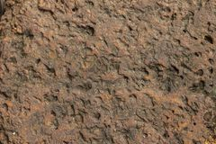 Texture Laterite stone Royalty Free Stock Photography