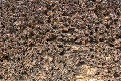 Texture Laterite stone Stock Photo