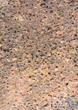 Texture of Laterite Stone Royalty Free Stock Photos