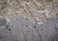 Texture Layered soil Stock Photos