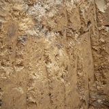 Texture Layered soil Royalty Free Stock Images