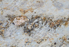 Texture layers metamorphic rocks Royalty Free Stock Images