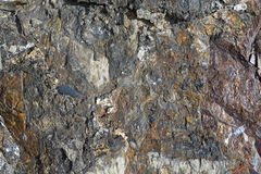 Texture layers metamorphic rocks Royalty Free Stock Photography
