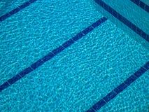 Texture, le fond de turquoise de la piscine images stock