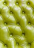 Texture of leather. Texture of the green leather royalty free stock photo