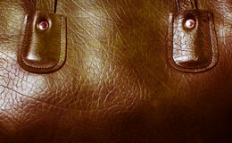Texture of  leather bags Royalty Free Stock Photos
