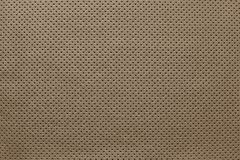 Texture leather of brown color with outer side Royalty Free Stock Image