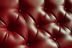 The texture of leather, sofa, background Stock Image
