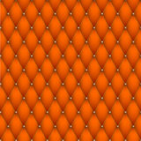 Texture of leather upholstery. Stock Photography