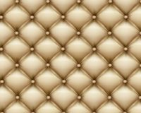 Texture leather upholstery sofa Stock Images