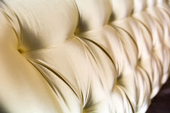 Texture leather upholstery sofa Stock Photography