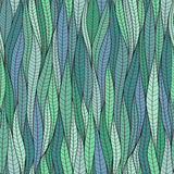 The texture of the leaves. Seamless pattern. Stock Images
