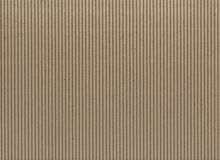 Texture - Light Brown Corrugated Cardboard Royalty Free Stock Images