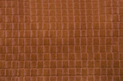 Texture of light brown leather Stock Photos