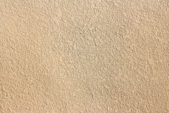 Texture of light brown plaster from building Royalty Free Stock Image