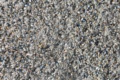 The texture is light gray sand or earth. The texture is light gray sand royalty free stock photos
