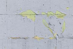Texture, light grey wall background. Weathered wall fragment stock photos
