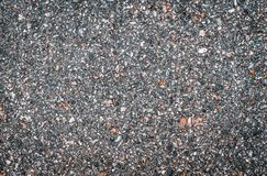 Texture of light smooth asphalt with small stones. Wallpaper for design, top view stock illustration