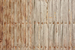 The texture of light wood. Planks vertical Royalty Free Stock Image