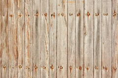 The texture of light wood. Planks vertical Stock Photography