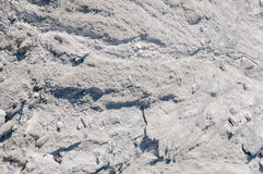 Texture limestone with natural light. Mountain of limestone waste in the industrial zone Stock Photo