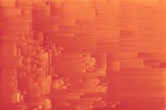Texture line distorted pixel sorting. design art royalty free illustration